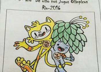 """[O 5º ano """"De olho nos Jogos Olímpicos Rio – 2016""""]"""