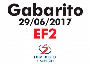 [Gabarito Simulado EF2 - 29/06/2017 - DBA]