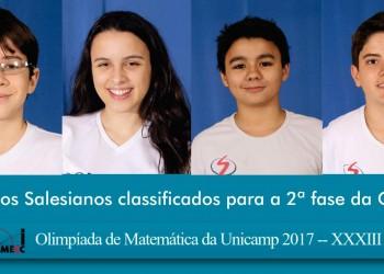 [Olimpíada de Matemática da Unicamp 2017]
