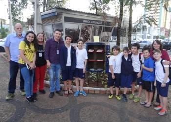 [Revitalização da praça e entrega da mini-biblioteca Dom Bosco Assunção]