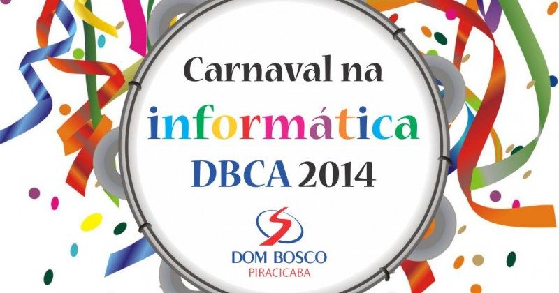 [Carnaval na informática DBCA]
