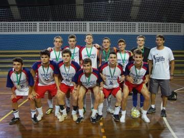Medalha de Ouro no Futsal