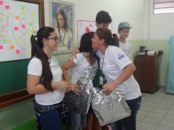 Agradecimento Voluntários