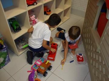 Explorando a Brinquedoteca