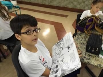 Projeto manifestações artísticas e culturais em homenagem ao Dia do Livro Infantil