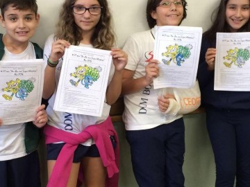 """O 5º ano """"De olho nos Jogos Olímpicos Rio – 2016"""""""