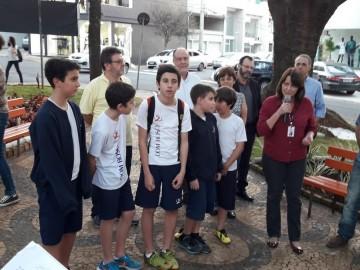 Revitalização praça Miguel Archanjo Benício D