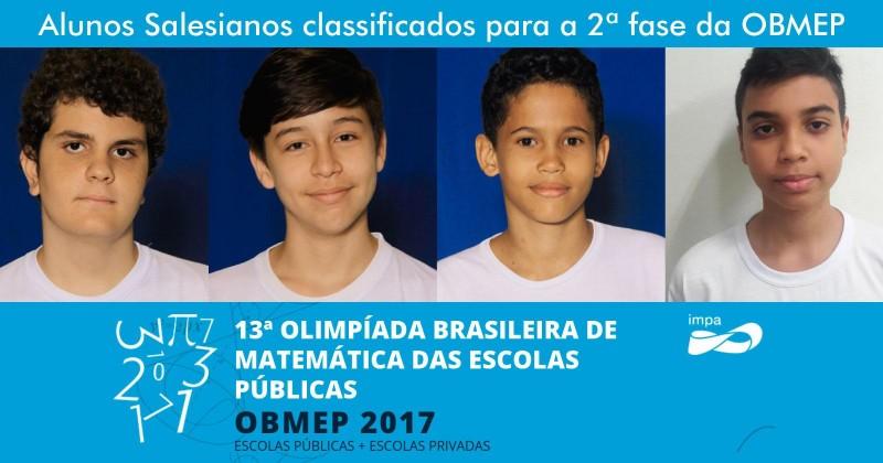 Olimpíada Brasileira de Matemática 2017 - DBSM
