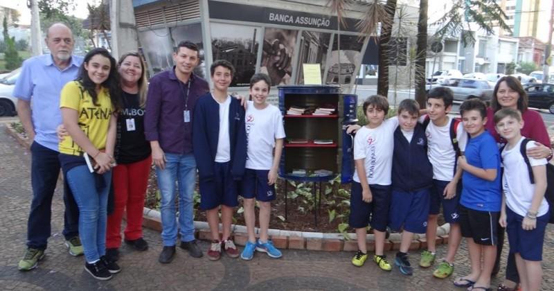 Revitalização da praça e entrega da mini-biblioteca Dom Bosco Assunção