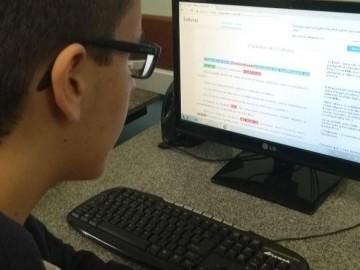 Alunos do 9º ano desenvolvem a produção textual