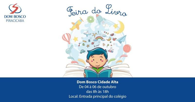 Colégio Dom Bosco Cidade Alta promove Feira do Livro