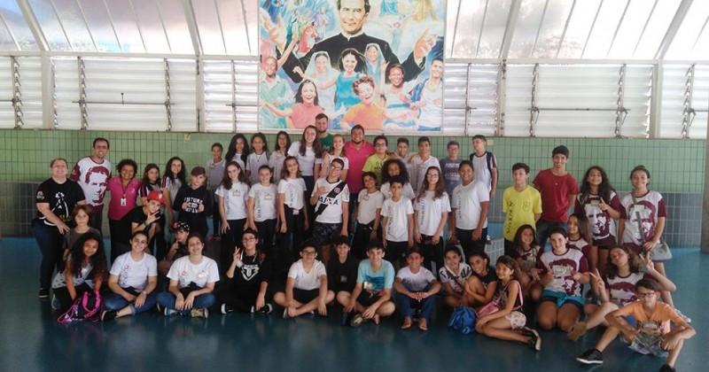 Encontro da Pastoral da Juventude Estudantil