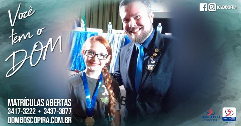 Aluna vence concurso do Rotary
