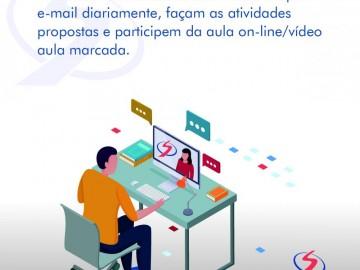 Procedimentos aulas on-line