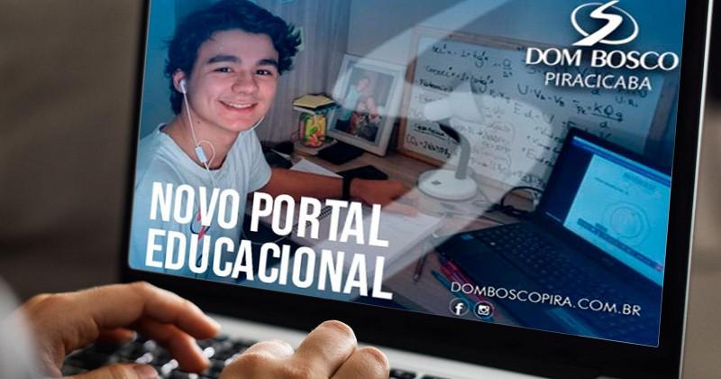 Novo portal educacional